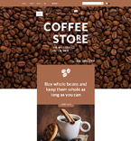 Cafe & Restaurant WooCommerce Template 55691
