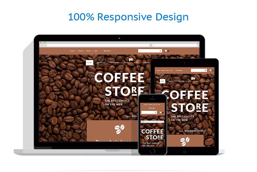 WooCommerce Themes Café et Restaurant #55691
