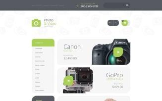 Photo Supplies OpenCart Template