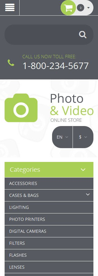 ADOBE Photoshop Template 55696 Home Page Screenshot