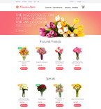 Flowers OpenCart  Template 55697