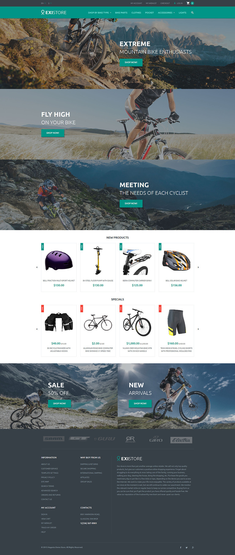 Existore Magento Theme New Screenshots BIG