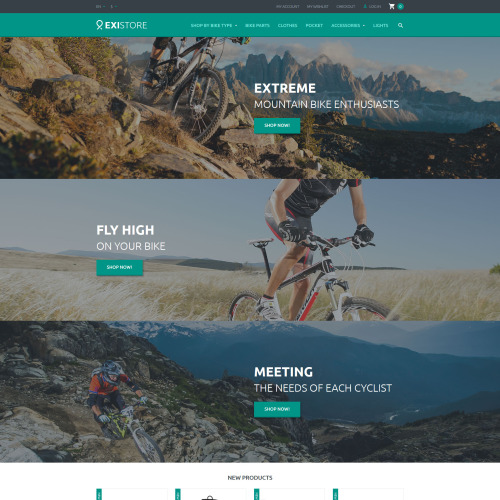 Existore - Magento Template based on Bootstrap