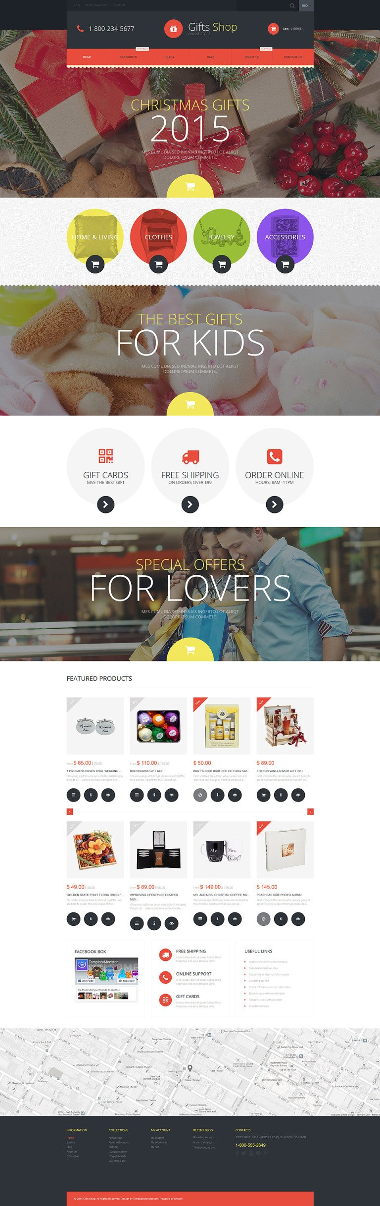 Gifts Shop Shopify Theme New Screenshots BIG