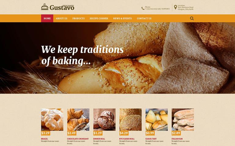 Bakery Web Template