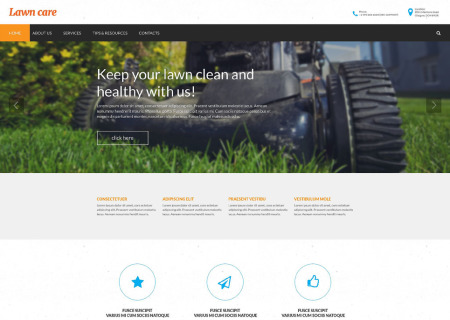 Lawn Mowing Responsive