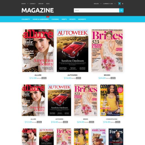 Magazine - PrestaShop Template based on Bootstrap