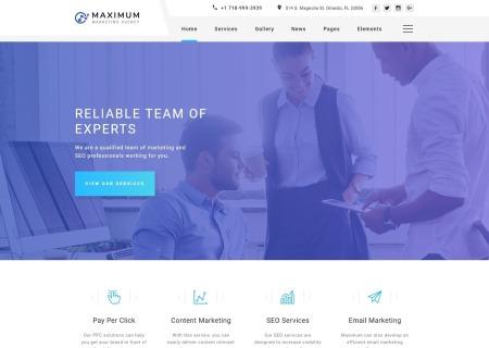 Digital Agency Multipage HTML