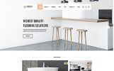 "Modello Siti Web Responsive #55694 ""Perquetry - Elegant Flooring Company Multipage HTML"""