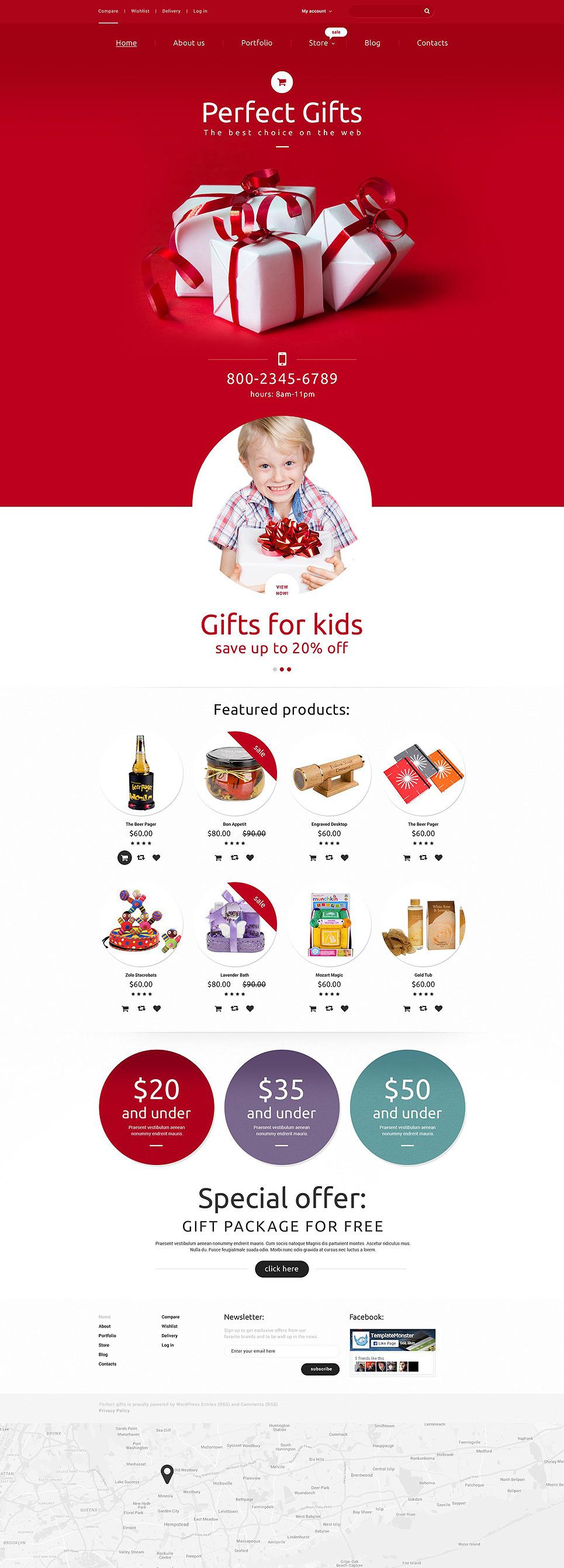 Perfect Gifts WooCommerce Theme New Screenshots BIG
