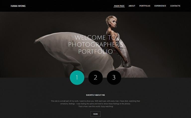 Plantilla para Galería de fotos #55649 para Sitio de Portafolios de ...