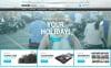 Responsive Seyahat Mağazası  Prestashop Teması New Screenshots BIG