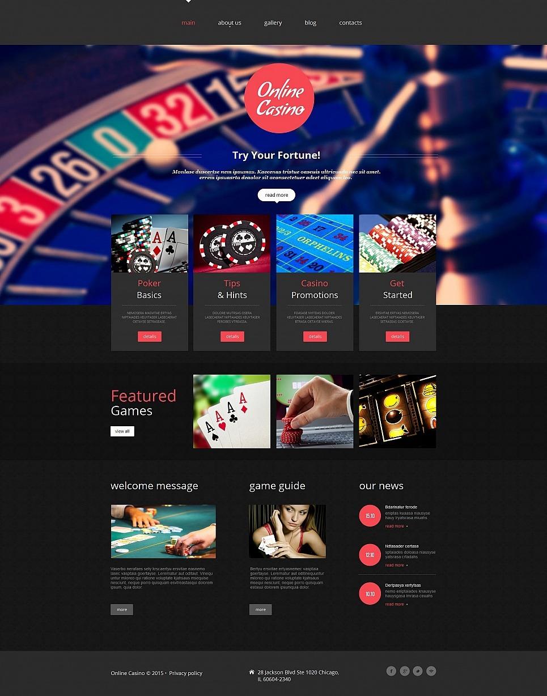 Дизайн joomla казино казино кинг lang ru