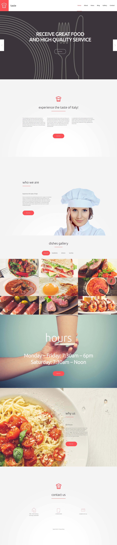 Taste WordPress Theme - screenshot