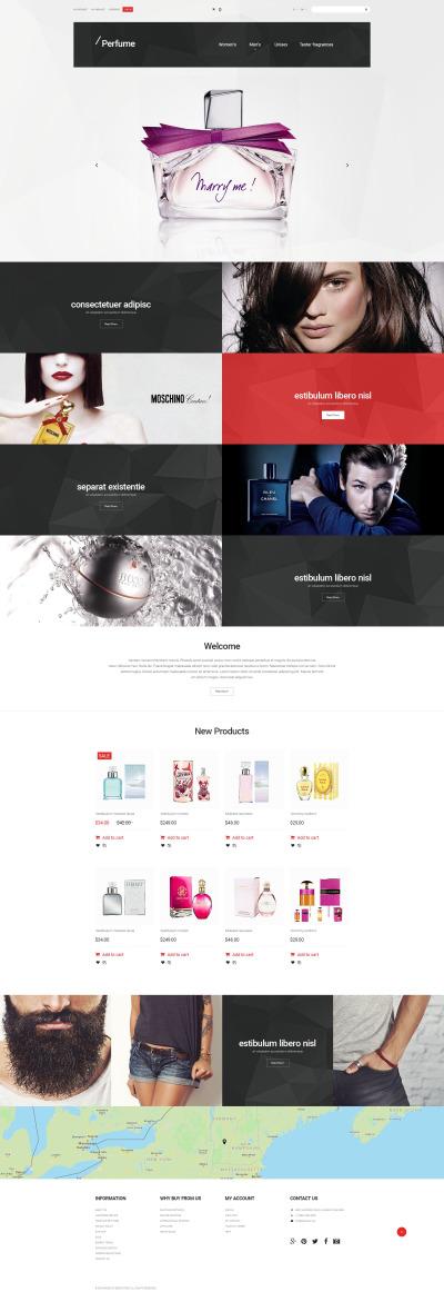 Cosmetics Store Responsive Tema Magento