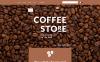 WooCommerce шаблон №55691 на тему магазин кофе New Screenshots BIG