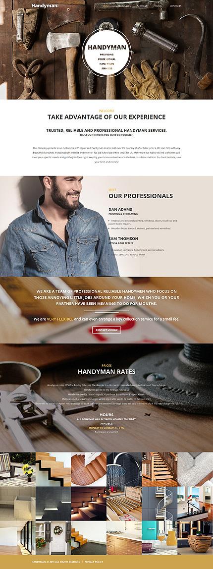 WordPress Theme/Template 55705 Main Page Screenshot