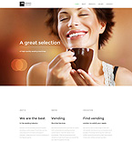 Food & Drink Website  Template 55706