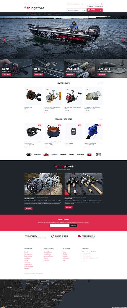 Magento Theme/Template 55708 Main Page Screenshot
