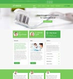 Medical Joomla  Template 55709