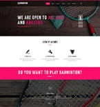 Sport Website  Template 55711