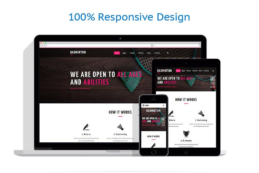 Modèles HTML5 Sport #55711