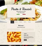 Cafe & Restaurant Website  Template 55713