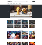 Media WordPress Template 55716