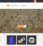 Agriculture OpenCart  Template 55717
