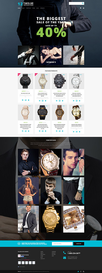 ADOBE Photoshop Template 55718 Home Page Screenshot