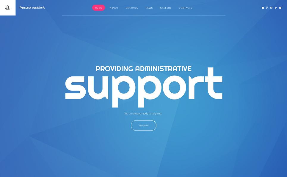 Modello Siti Web Responsive #55721 per Un Sito di Business e Servizi New Screenshots BIG