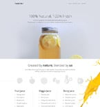 Cafe & Restaurant WordPress Template 55725
