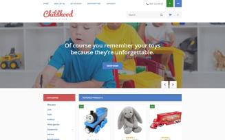 Childhood OpenCart Template