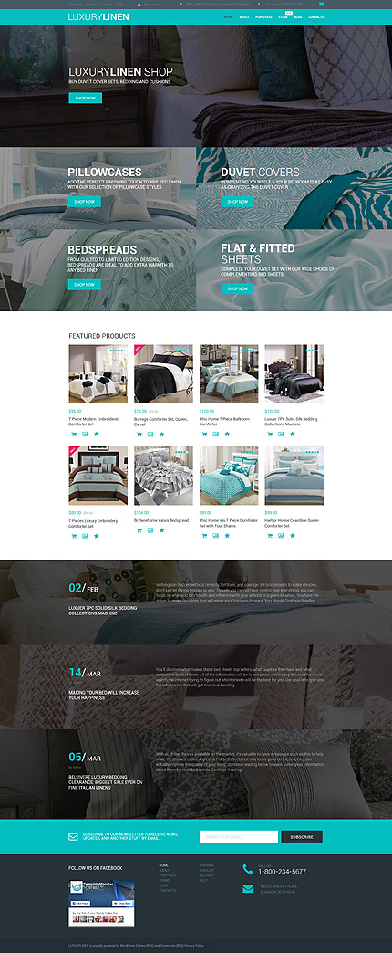ADOBE Photoshop Template 55734 Home Page Screenshot