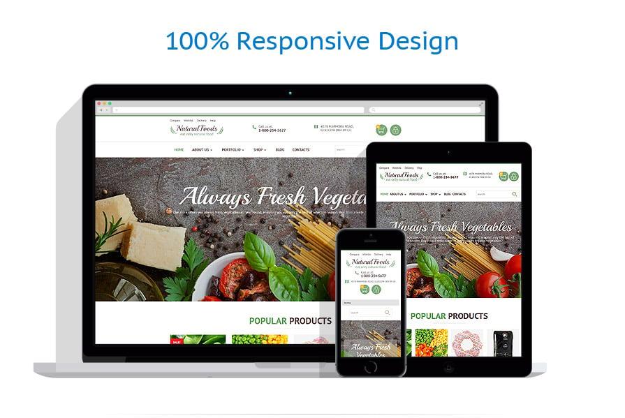WooCommerce Themes Alimentation et Boissons #55738