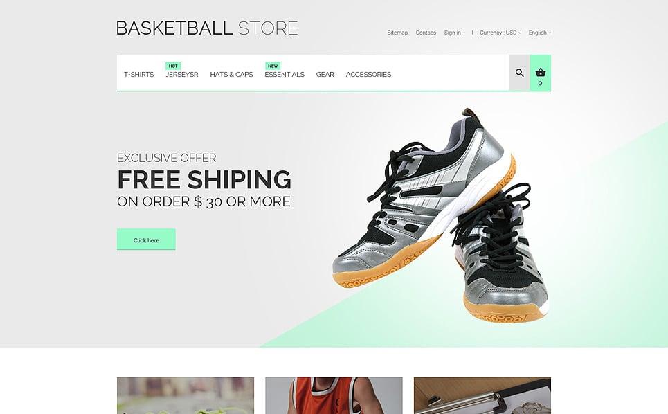Responsywny szablon PrestaShop #55740 na temat: koszykówka New Screenshots BIG