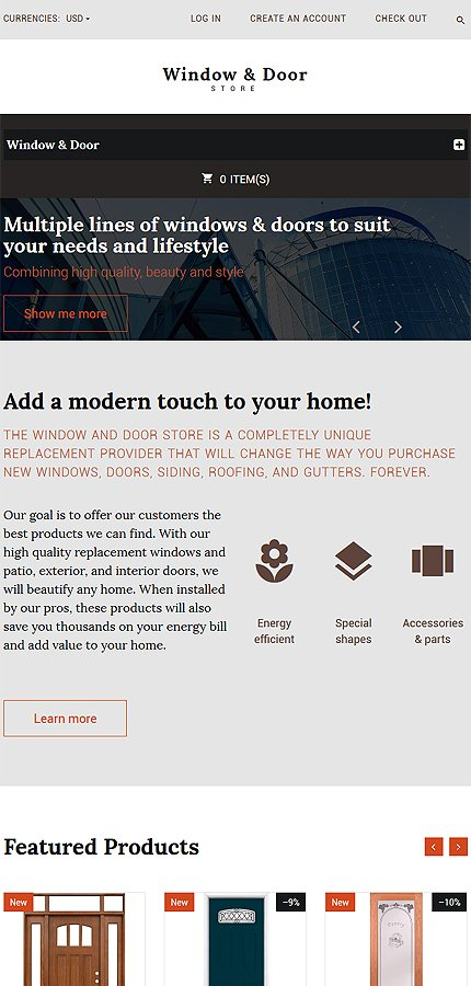 ADOBE Photoshop Template 55741 Home Page Screenshot