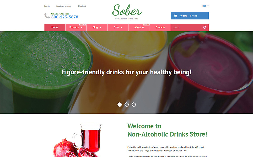Responsywny szablon Shopify #55742 na temat: jedzenie i napoje New Screenshots BIG