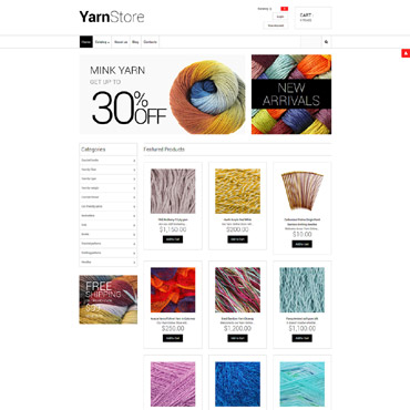 Preview image of Most Popular VirtueMart Template No. 55747