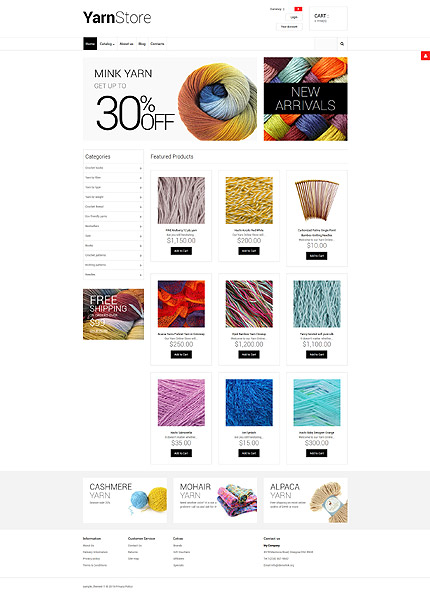 ADOBE Photoshop Template 55747 Home Page Screenshot