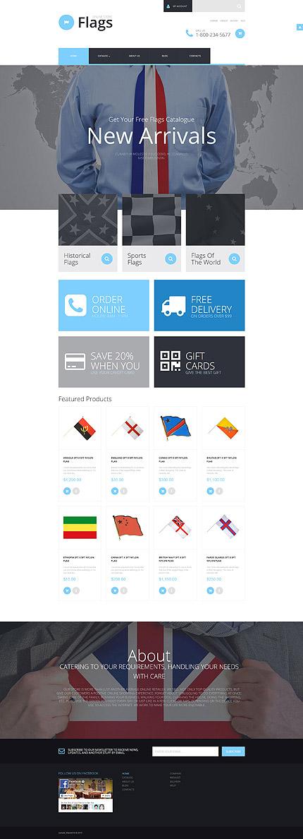 ADOBE Photoshop Template 55748 Home Page Screenshot