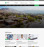 Education Website  Template 55755