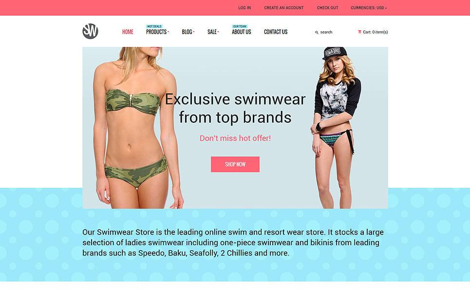 Responsywny szablon Shopify #55756 na temat: stroje kąpielowe New Screenshots BIG