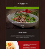 Cafe & Restaurant WordPress Template 55761