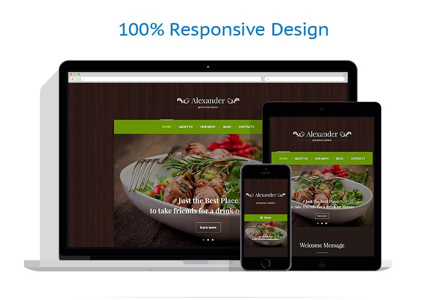 Thèmes WordPress Café et Restaurant #55761