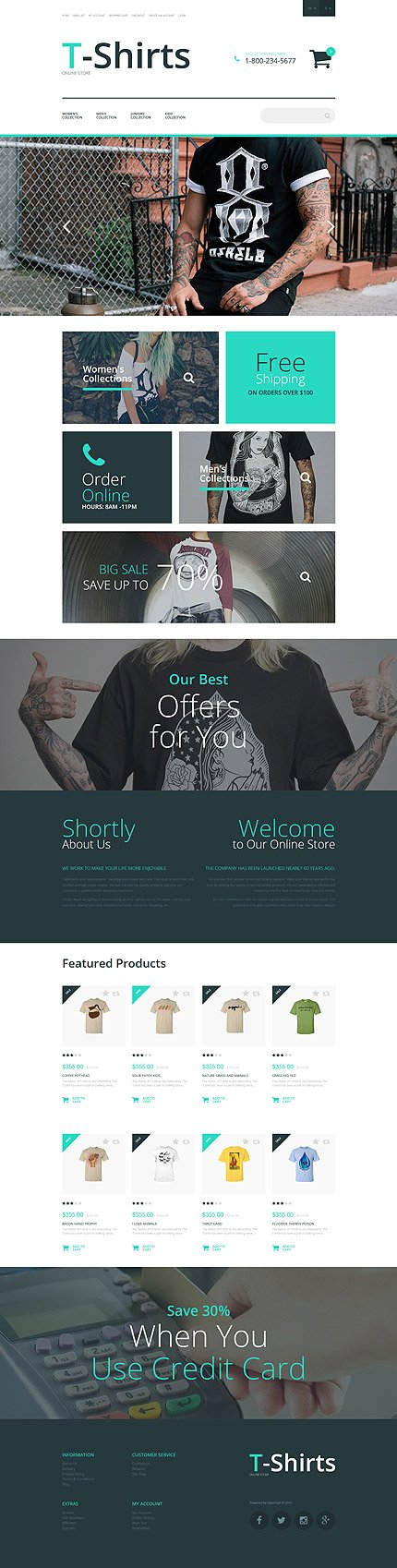 ADOBE Photoshop Template 55763 Home Page Screenshot