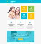 Medical WordPress Template 55766