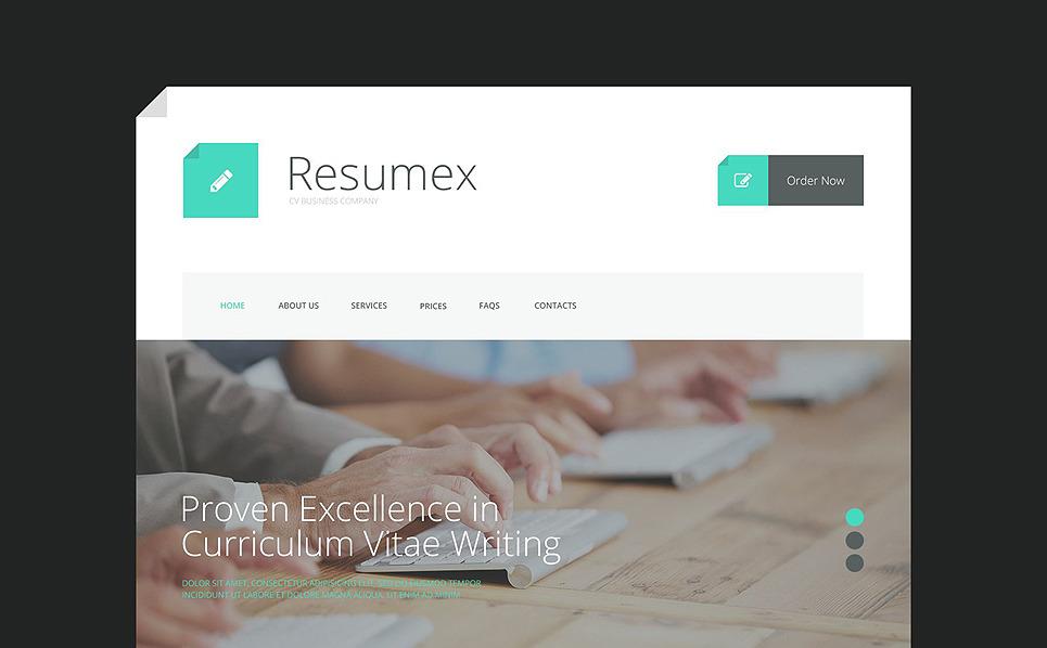 Reszponzív Üzlet és szolgáltatások Weboldal sablon New Screenshots BIG