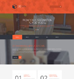 Art & Photography WordPress Template 55771