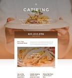Food & Drink Website  Template 55773